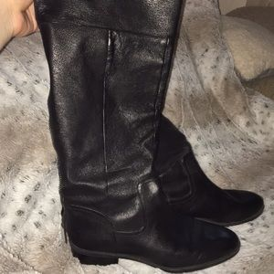 Nine West knee high leather boots